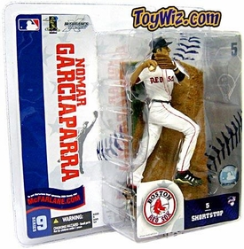 McFarlane Toys MLB Sports Picks Series 9 Action Figure Nomar Garciaparra (Boston Red Sox) White Jersey Variant