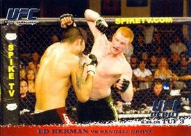 Topps UFC Ultimate Fighting Championship Single Card Round 1 Ed Herman #44