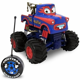 Disney / Pixar CARS Toon Exclusive Monster Truck R/C Remote Control Vehicle Tormentor