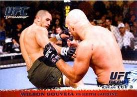 Topps UFC Ultimate Fighting Championship Single Card Round 1 Wilson Gouveia #45