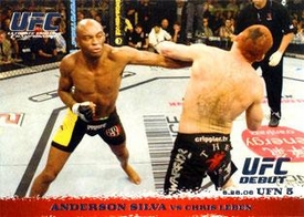 Topps UFC Ultimate Fighting Championship Single Card Round 1 Anderson Silva #46