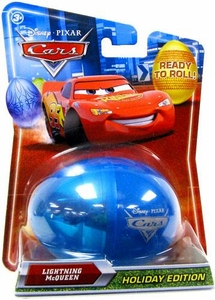 Disney / Pixar CARS Movie 1:55 Die Cast Car 2010 Holiday Special Easter Egg Lightning McQueen