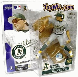 McFarlane Toys MLB Sports Picks Series 7 Action Figure Barry Zito (Oakland A's) Gray Jersey Variant