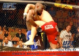Topps UFC Ultimate Fighting Championship Single Card Round 1 Cheick Kongo #47