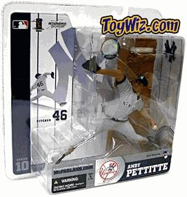 McFarlane Toys MLB Sports Picks Series 10 Action Figure Andy Pettitte (New York Yankees) Gray Jersey Variant
