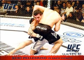Topps UFC Ultimate Fighting Championship Single Card Round 1 Kurt Pellegrino #48