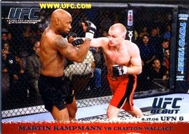 Topps UFC Ultimate Fighting Championship Single Card Round 1 Martin Kampmann #49
