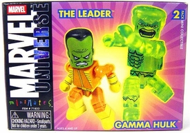 Marvel MiniMates The Leader & Gamma Hulk