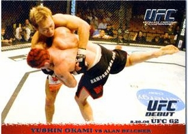 Topps UFC Ultimate Fighting Championship Round 1 Yushin Okami #50