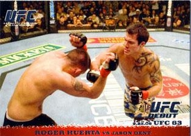 Topps UFC Ultimate Fighting Championship Single Card Round 1 Roger Huerta #51
