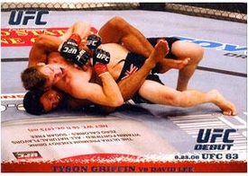 Topps UFC Ultimate Fighting Championship Single Card Round 1 Tyson Griffin #52