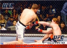 Topps UFC Ultimate Fighting Championship Single Card Round 1 Joe Lauzon #53