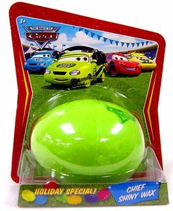 Disney / Pixar CARS Movie 1:55 Die Cast Car Holiday Special Easter Egg Chief Shiny Wax
