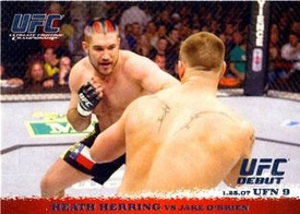 Topps UFC Ultimate Fighting Championship Single Card Round 1 Heath Herring #57