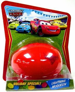 Disney / Pixar CARS Movie 1:55 Die Cast Car Holiday Special Easter Egg Lightning McQueen