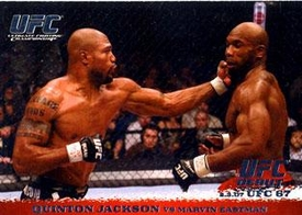 Topps UFC Ultimate Fighting Championship Single Card Round 1 Quinton Jackson #58