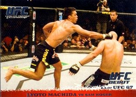 Topps UFC Ultimate Fighting Championship Single Card Round 1 Lyoto Machida #59