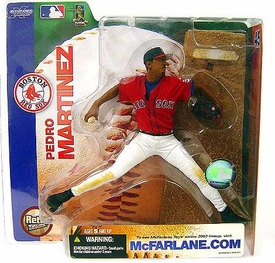 McFarlane Toys MLB Sports Picks Series 7 Action Figure Pedro Martinez (Boston Red Sox) Red Boston Jersey