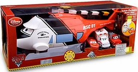 Disney / Pixar CARS Toon Exclusive Rescue Squard Helicopter Die Cast Carrier