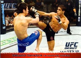 Topps UFC Ultimate Fighting Championship Single Card Round 1 Thiago Tavares #61