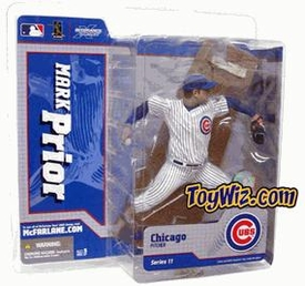McFarlane Toys MLB Sports Picks Series 11 Action Figure Mark Prior (Chicago Cubs) White Jersey BLOWOUT SALE!