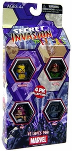 Marvel MiniMates Mini Figure 4-Pack Secret Invasion HE LOVES YOU!