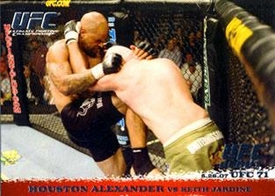 Topps UFC Ultimate Fighting Championship Single Card Round 1 Houston Alexander #64