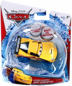 Disney / Pixar CARS Hydro Wheels Jeff Gorvette