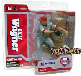 McFarlane Toys MLB Sports Picks Series 11 Action Figure Billy Wagner (Philadelphia Phillies) Gray Jersey