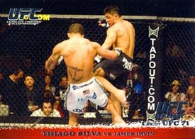 Topps UFC Ultimate Fighting Championship Single Card Round 1 Thiago Silva #65