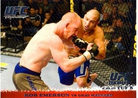 Topps UFC Ultimate Fighting Championship Single Card Round 1 Rob Emerson #68