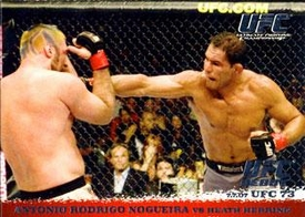 Topps UFC Ultimate Fighting Championship Single Card Round 1 Antonio Rodrigo Nogueira #69