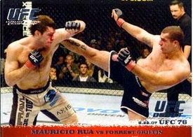 Topps UFC Ultimate Fighting Championship Single Card Round 1 Mauricio Rua #70