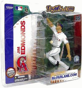 McFarlane Toys MLB Sports Picks Series 7 Action Figure Jim Edmonds (Anaheim Angels) Angels Jersey Variant BLOWOUT SALE!