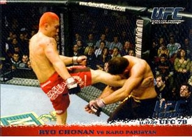 Topps UFC Ultimate Fighting Championship Single Card Round 1 Ryo Chonan #72