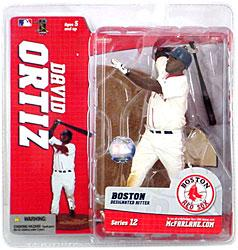 McFarlane Toys MLB Sports Picks Series 12 Action Figure David Ortiz (Boston Red Sox) White Jersey