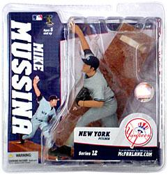 McFarlane Toys MLB Sports Picks Series 12 Action Figure Mike Mussina (New York Yankees) Gray Jersey