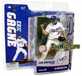 McFarlane Toys MLB Sports Picks Series 12 Action Figure Eric Gagne (Los Angeles Dodgers) White Jersey