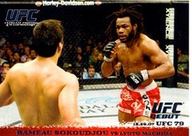Topps UFC Ultimate Fighting Championship Single Card Round 1 Rameau Sokoudjou #77