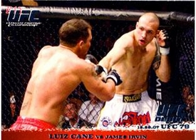 Topps UFC Ultimate Fighting Championship Single Card Round 1 Luiz Cane #78