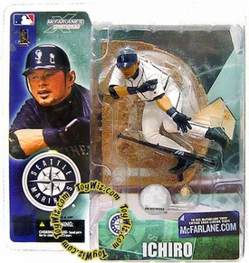 McFarlane Toys MLB Sports Picks Series 4 Action Figure Ichiro Suzuki White Jersey Variant