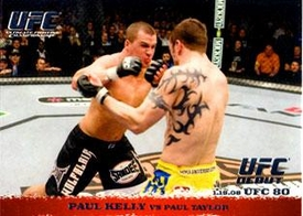 Topps UFC Ultimate Fighting Championship Single Card Round 1 Paul Kelly #79