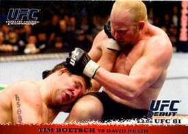 Topps UFC Ultimate Fighting Championship Single Card Round 1 Tim Boetsch #80