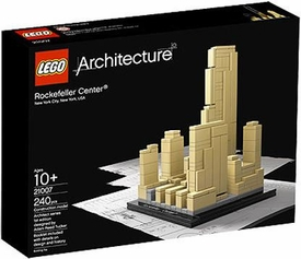 LEGO Architecture Set #21007 Rockefeller Center Damaged Packaging, Mint Contents!