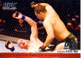 Topps UFC Ultimate Fighting Championship Single Card Round 1 Cain Velasquez #82