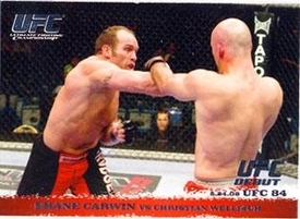 Topps UFC Ultimate Fighting Championship Single Card Round 1 Shane Carwin #84