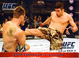 Topps UFC Ultimate Fighting Championship Single Card Round 1 Amir Sadollah #87