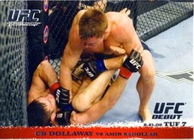 Topps UFC Ultimate Fighting Championship Single Card Round 1 CB Dollaway #88