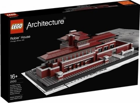 LEGO Architecture Set #21010 Robie House Damaged Package, Mint Contents!
