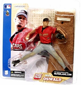 McFarlane Toys MLB Sports Picks Series 3 Action Figure Roy Oswalt (Houston Astros) Gray Pants Variant